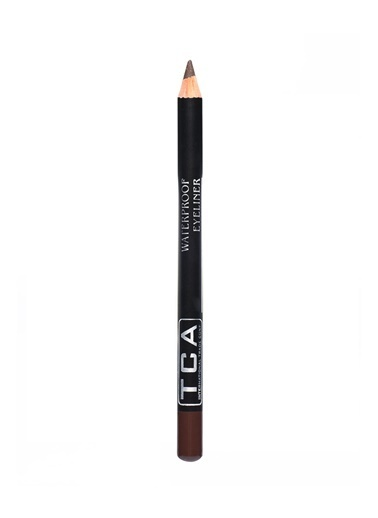 Tca Studio Make Up Waterproof Eyelıner - Dark Brown Kahve